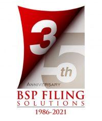 BSP Filing 35th Anniversary
